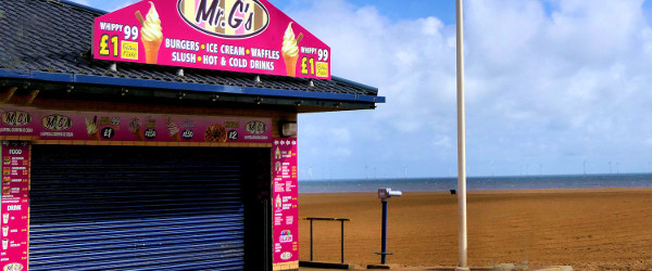 Skegness The Beach